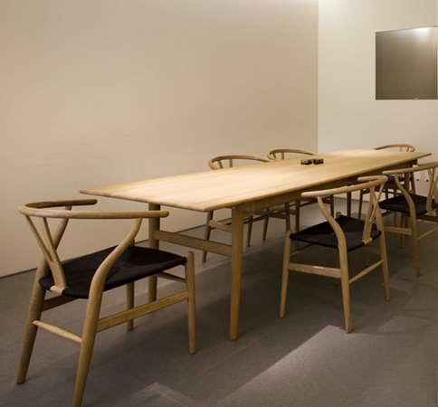 Eurostyling carl hansen son sedia ch24 wishbone for Sedia wagner
